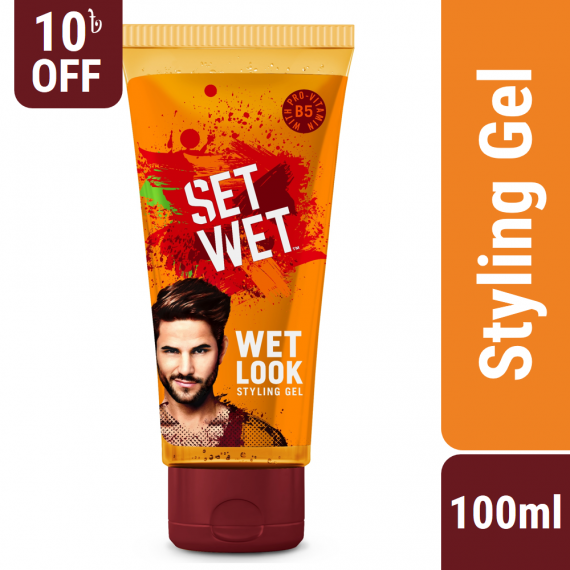Set Wet Hair Gel Wet Look Styling – 100ml