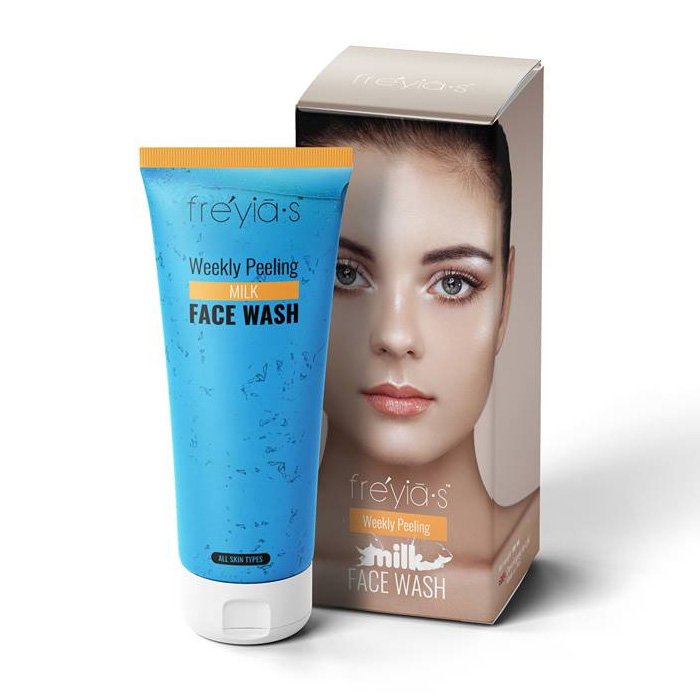 Freyias Weekly Peeling Milk Face Wash (B1G1)