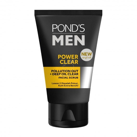 Pond's men_scrub_power clear