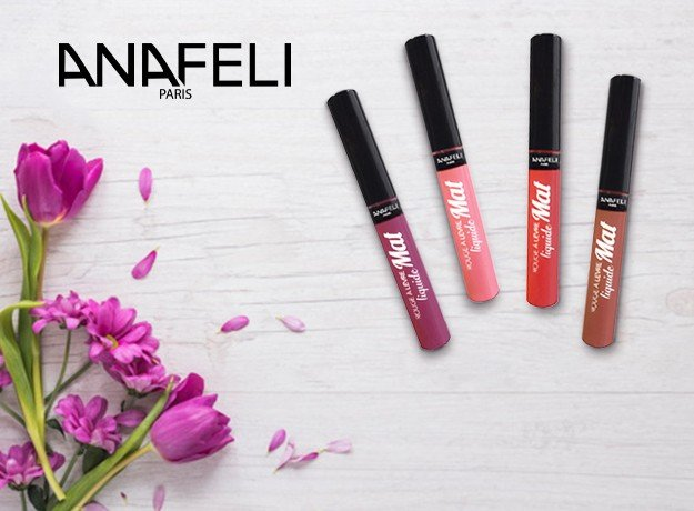 Get Perfect Matte Shade with Anafeli Paris