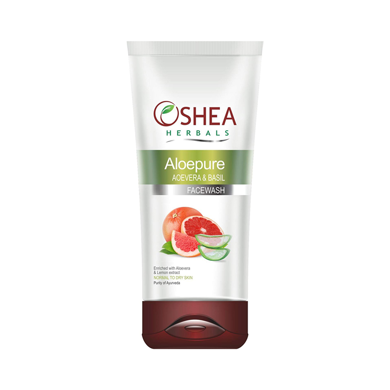 Aloepure Aloevera  & Basil Face Wash