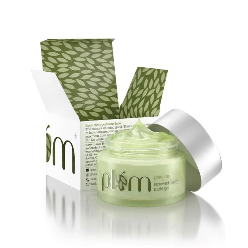 Plum Green Tea Renewed Clarity Night Gel 50ml
