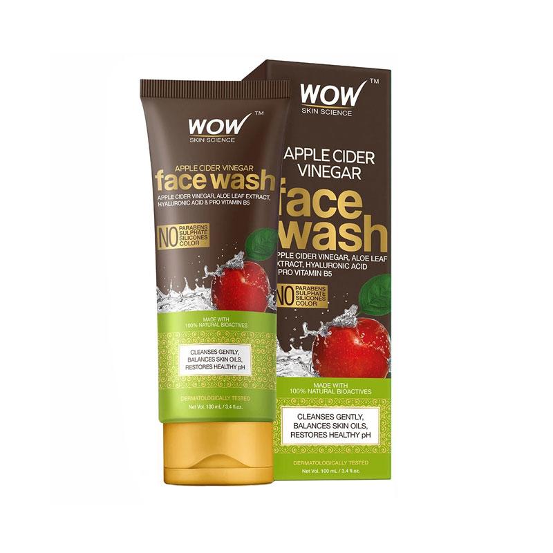 WOW Apple Cider Cider Vinegar Face Wash 100ml