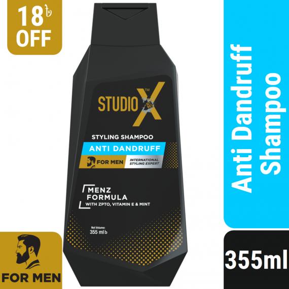 Studio X Anti Dandruff Shampoo for Men 355ml