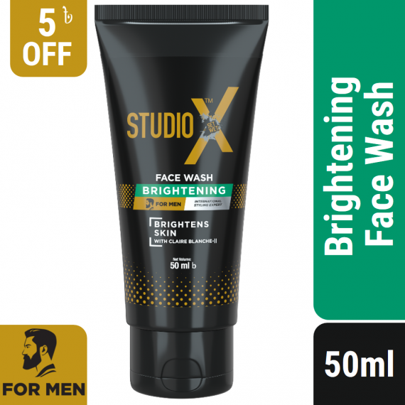 Studio X Brightening Facewash for Men 50ml