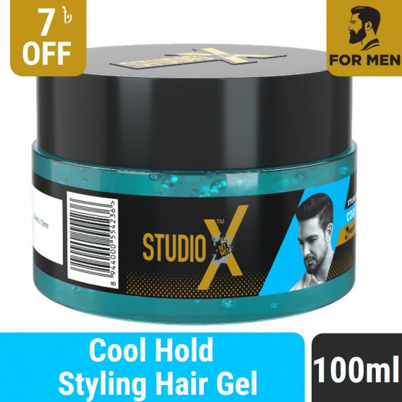 Studio X Cool Hold Hair Gel 100ml