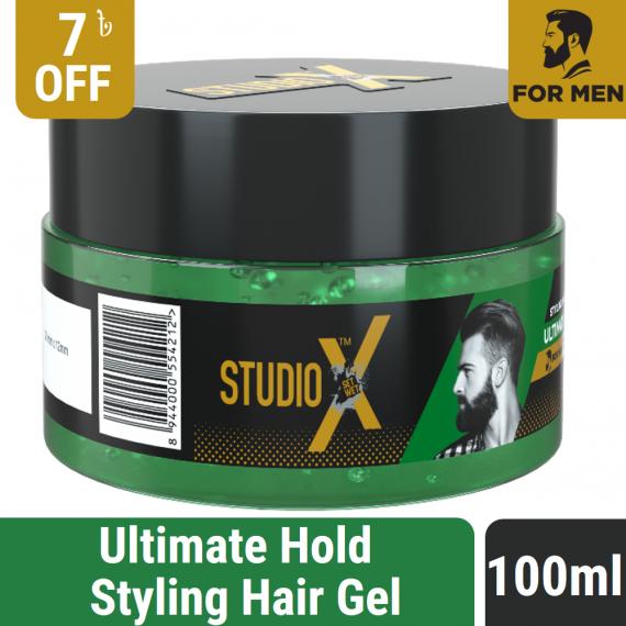 Studio X Ultimate Hold Hair Gel 100ml