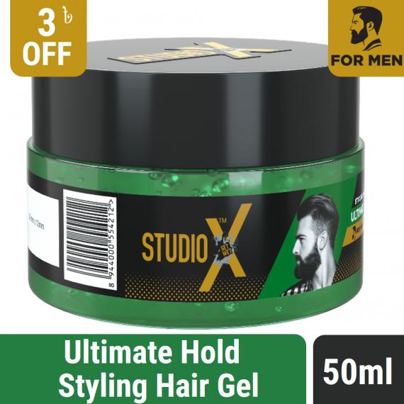 Studio X Ultimate Hold Hair Gel 50ml