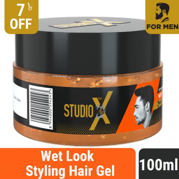 Studio X Wet Look Hair Gel 100ml