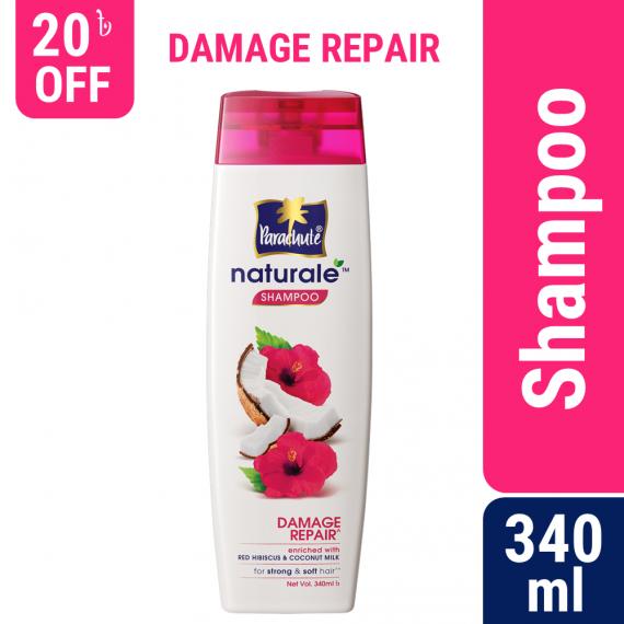 Parachute Naturale Damage Repair Shampoo 340ml