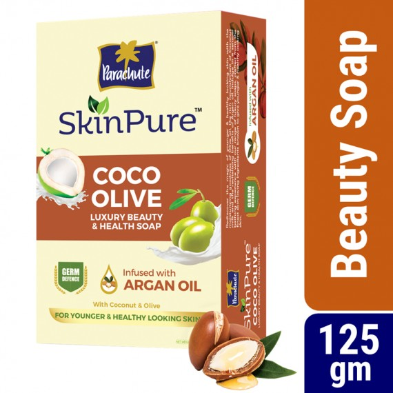 Parachute-SkinPure-Soap-Bar-Coco-Olive-&-Argan-125gm