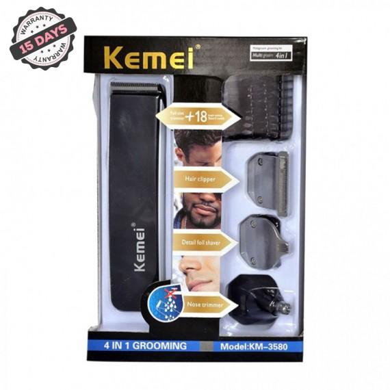 Kemei 4 in 1 Grooming KM-3580-1