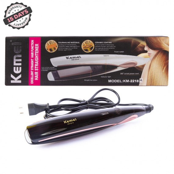 Kemei Temperature Control Professional KM 2218 Hair Straightener