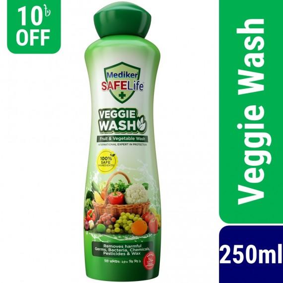 Mediker SafeLife Veggie Wash 250ml-1