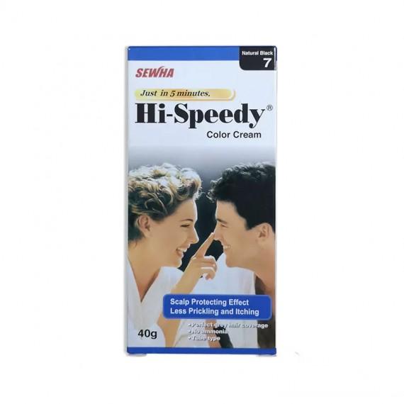 Sewha Hi-Speedy Color Cream Natural Black 7