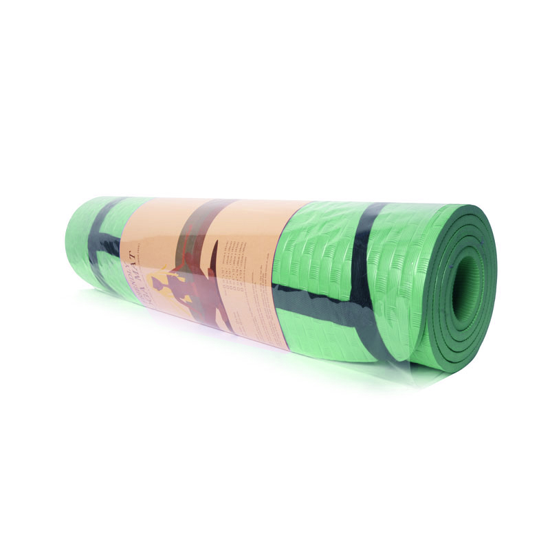 Eco Friendly PVC Yoga Mat (Green) - Shajgoj