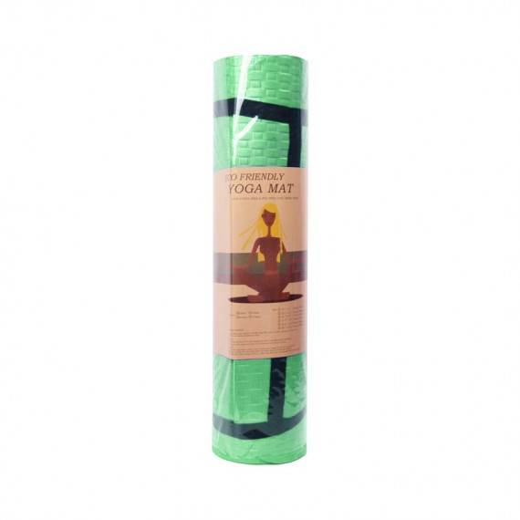 Eco Friendly TPE Yoga Mat (Green)