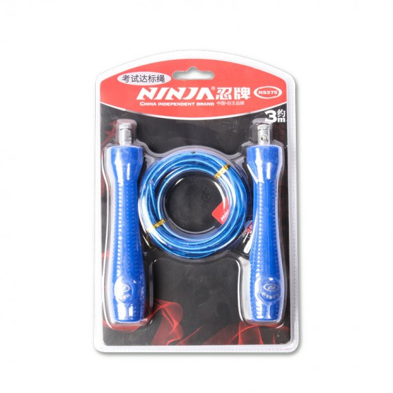 Ninja Wire Skipping Jump Rope – NS375 (Blue)