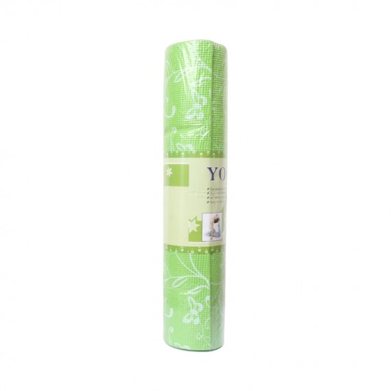 PVC Yoga Mat Printed (Green)