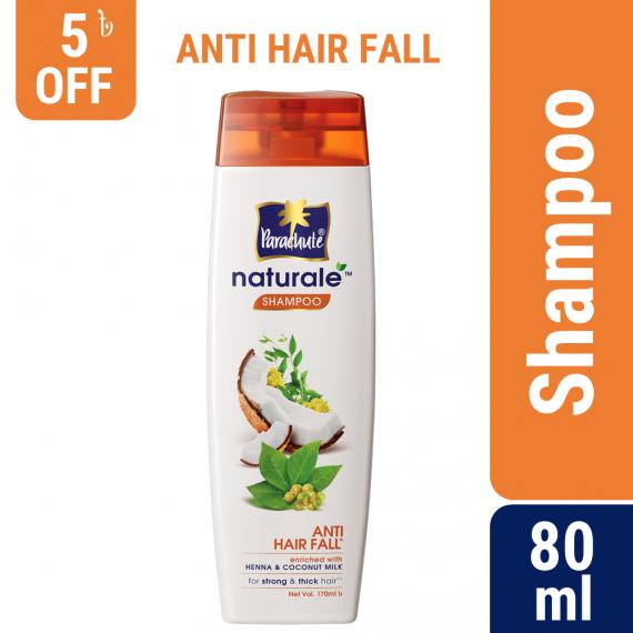 Parachute Naturale Anti Hair Fall Shampoo 80ml