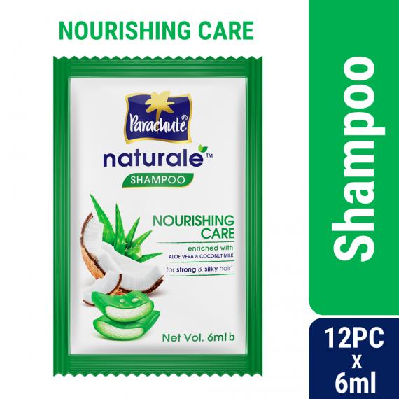 Parachute Naturale Nourishing Care Shampoo (6ml X 12 pcs)