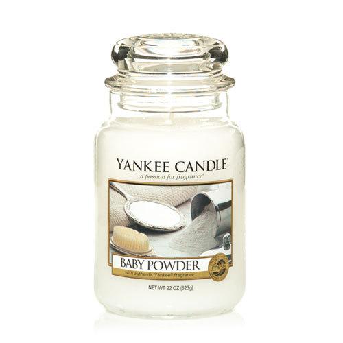 Yankee Candle Classic Large Jar Baby Powder