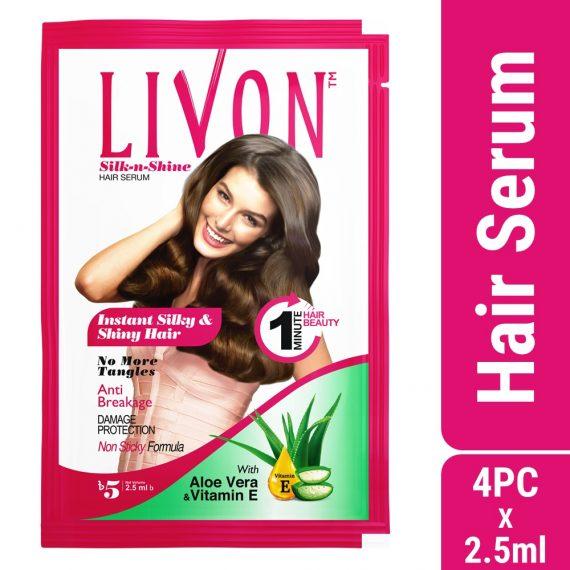 Livon Hair Serum (2.5ml X 4 pcs)