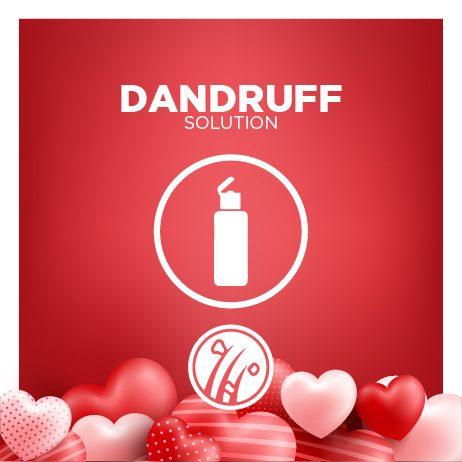 Get rid of Dandruff today