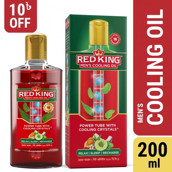 Red King Men's Cooling Oil 200ml