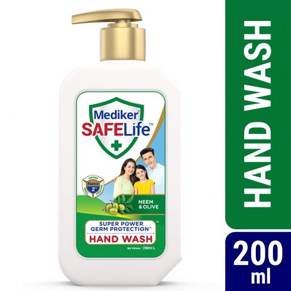 Mediker-SafeLife-Hand-Wash-200ml-Pump